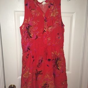 Short floral dress from charming Charlie